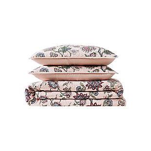 Cottage Classics Ridgefield 2 Piece Twin XL Quilt Set, Pink, large