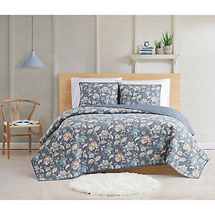 Cottage Classics Florence 2 Piece Twin XL Quilt Set, Multi, rollover