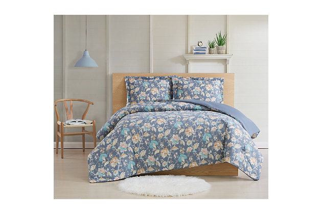 Cottage Classics Florence 2 Piece Twin XL Comforter Set, Multi, large