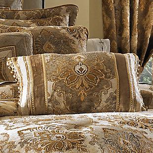 J. Queen New York Bradshaw BoudoirDecorative Throw Pillow, Natural, rollover