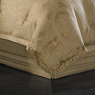 J. Queen New York Napoleon Gold Queen 4 Piece Comforter Set, Gold, rollover