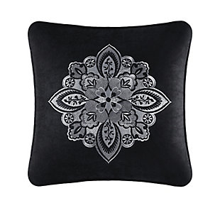"""J. Queen New York Guiliana 18"""" Square EmbellishedDecorative Throw Pillow, , large"""