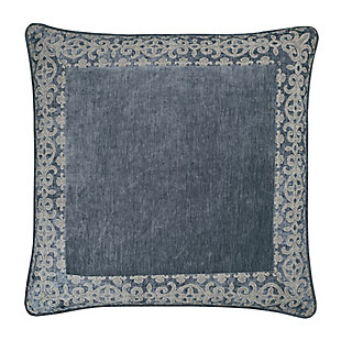 J. Queen New York Sicily Teal Euro Sham, , large