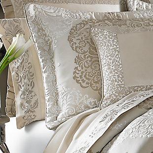 J. Queen New York La Scala Queen 4 Piece Comforter Set, Gold, large