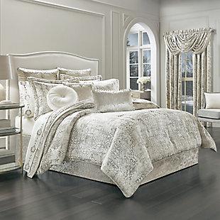 J. Queen New York Dream Natural Full 4 Piece Comforter Set, Natural, large