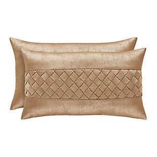 J. Queen New York Sardinia BoudoirDecorative Throw Pillow, , large