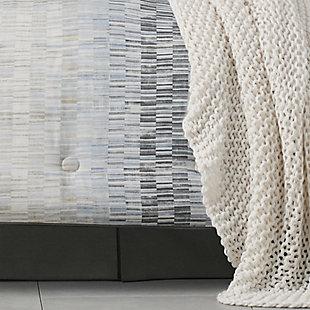 Oscar Oliver Flatiron Full 4 Piece Comforter Set, Teal, rollover