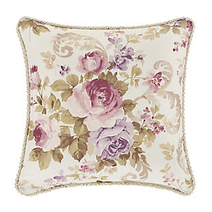 "Royal Court Chambord 16"" SquareDecorative Throw Pillow, , large"
