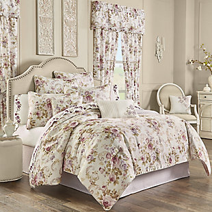Royal Court Chambord Full 4 Piece Comforter Set, Lavender, large