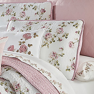 Royal Court Rosemary Twin 2Pc. Quilt Set, Rose, rollover