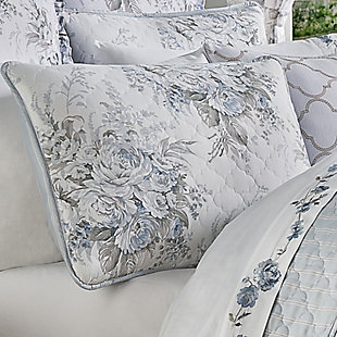 Royal Court Estelle Twin 2Pc. Quilt Set, Blue, rollover