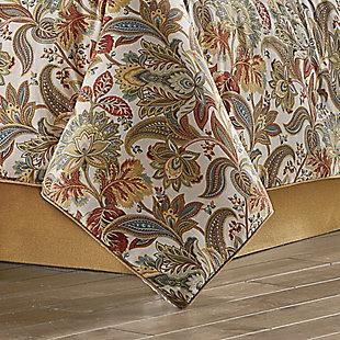 Five Queens Court August Queen 4 Piece Comforter Set, Multi, rollover