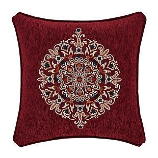 "J. Queen New York Taormina 18"" SquareDecorative Throw Pillow, , large"