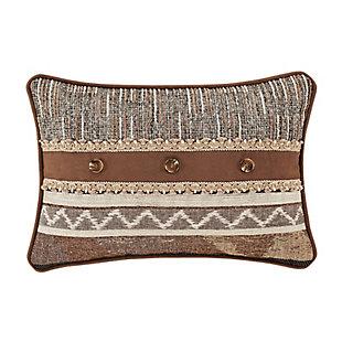 J. Queen New York Timber BoudoirDecorative Throw Pillow, , large