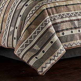 J. Queen New York Timber Queen 4 Piece Comforter Set, Linen, rollover
