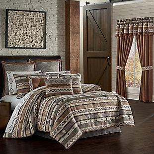 J. Queen New York Timber Queen 4 Piece Comforter Set, Linen, large