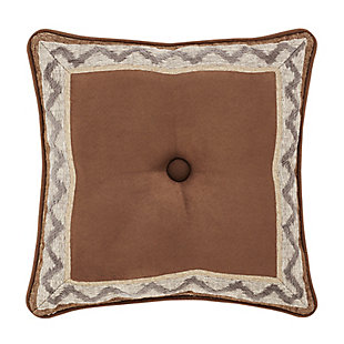 """J. Queen New York Timber 18"""" SquareDecorative Throw Pillow, , rollover"""
