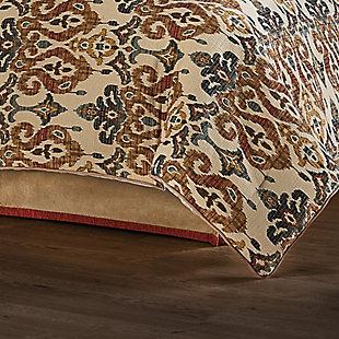 J. Queen New York Tucson Queen 4 Piece Comforter Set, Multi, rollover