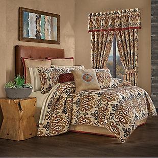 J. Queen New York Tucson Queen 4 Piece Comforter Set, Multi, large