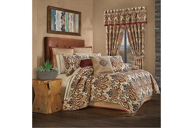 J Queen New York Tucson Queen 4 Piece Comforter Set Ashley Furniture Homestore