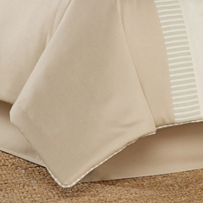 J. Queen New York Palm Beach Queen 4 Piece Comforter Set, Sand, large