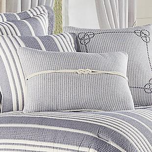 J. Queen New York Shore BoudoirDecorative Throw Pillow, , rollover