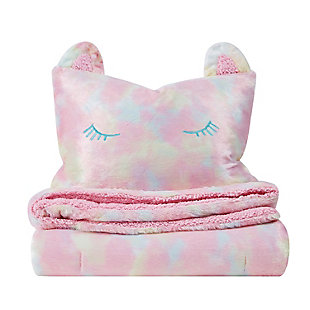 Pem America Rainbow Sweetie Twin Comforter Set, Pink, large