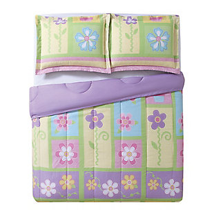 Pem America Sweet Helena Twin Comforter Set, Multi, large