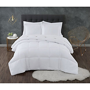 Truly Calm Antimicrobial 2 Piece Twin/Twin XL Comforter Set, White, large