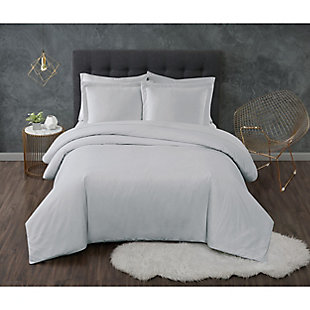 Truly Calm Antimicrobial 2 Piece Twin/Twin XL Sheet Set, Gray, rollover