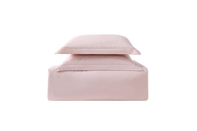 Truly Soft Everyday 3 Piece Twin XL Duvet Set, Blush, large