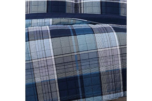 Truly Soft Trey 2 Piece Twin XL Quilt Set, Multi, large