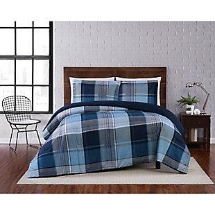 Truly Soft Trey 2 Piece Twin XL Comforter Set, Multi, rollover