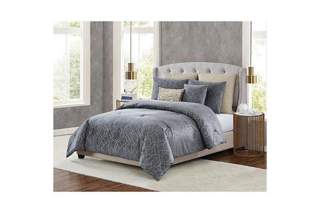 5th Avenue Lux Madison 7 Piece Queen Comforter Set Ashley Furniture Homestore