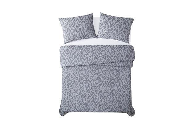 Brooklyn Loom Honey Waffle 2 Piece Twin/Twin XL Comforter Set, Blue, large
