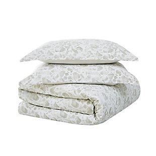 Brooklyn Loom Jasper 2 Piece Twin/Twin XL Comforter Set, Gray, large