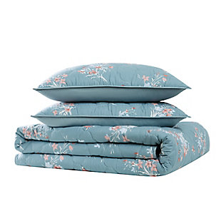 Brooklyn Loom Paulina 2 Piece Twin/Twin XL Quilt Set, Blue, large