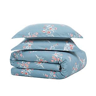 Brooklyn Loom Paulina 2 Piece Twin/Twin XL Comforter Set, Blue, large