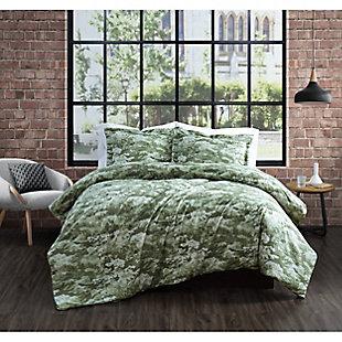 Brooklyn Loom Sahara 2 Piece Twin/Twin XL Comforter Set, Green, rollover