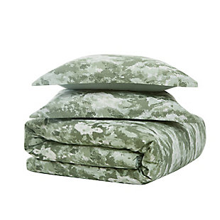 Brooklyn Loom Sahara 2 Piece Twin/Twin XL Comforter Set, Green, large