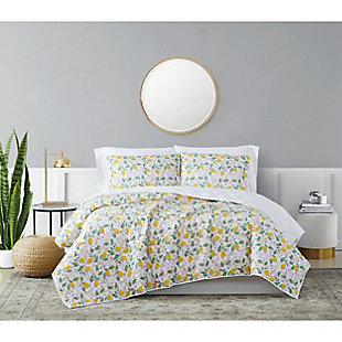 Brooklyn Loom Verbena 2 Piece Twin/Twin XL Quilt Set, Multi, rollover