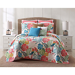 Oceanfront Resort Coco Paradise 2 Piece Twin XL Quilt Set, Multi, rollover