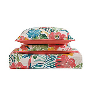 Oceanfront Resort Coco Paradise 2 Piece Twin XL Quilt Set, Multi, large