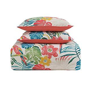 Oceanfront Resort Coco Paradise 2 Piece Twin XL Comforter Set, Multi, large
