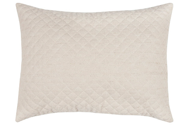Cotton Breeze on By Queen Quilt, Natural, large