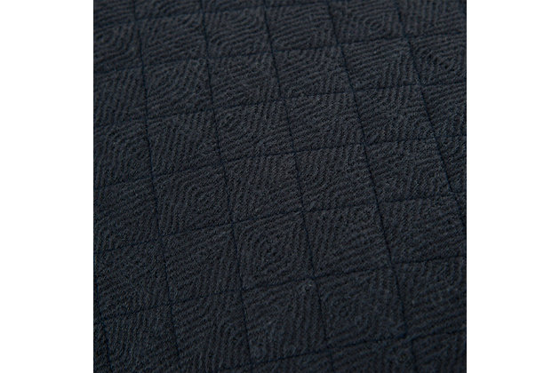 Cotton Breeze on By King Quilt, Indigo, large