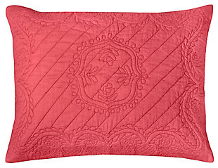 Cotton Voile Moroccan Fling Queen Quilt, Pink, large