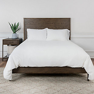 Cotton Simply Queen Duvet, White, rollover