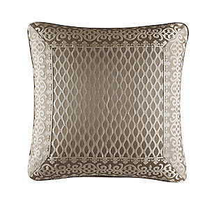 "Five Queens Court Beaumont 20"" Square Decorative Throw Pillow, , large"