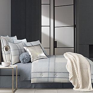 Oscar | Oliver Leighton 4-Piece Full Comforter Set, Blue, rollover
